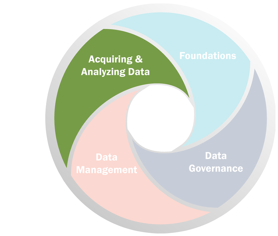 Icon - Acquiring & Analyzing Data
